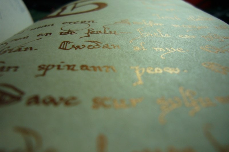 Book page from Ephesia Grammata