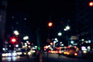 city street and nightlife