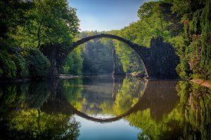 bridge ober a river